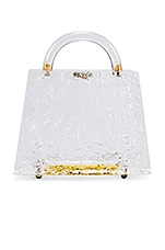Amber Sceats Mini Top Handle Bag in Clear