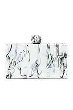 Amber Sceats Demi Clutch in White