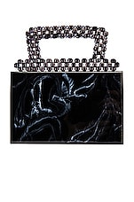 Amber Sceats Alexandra Handbag in Black Marble