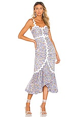 Alice McCall Lady Midi Dress in Lavender