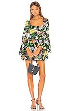 Alice McCall Picasso Mini Dress in Black