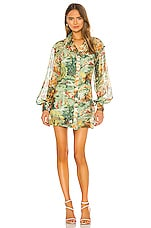 Alice McCall Strange Dreams Shirt Dress in Green