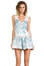 Alice McCall Shape Shifting Playsuit in Jellyfish Print