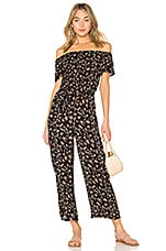AMUSE SOCIETY Gone Sailin' Jumpsuit in Black Sands