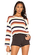 AMUSE SOCIETY Bahia Sweater in Multi