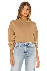 AMUSE SOCIETY Portofino Sweatshirt in Surplus