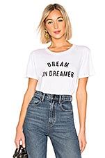 AMUSE SOCIETY Dream on Dreamer Tee in White