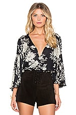 Pipa Blouse en Black Sands