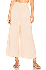 ANAAK Kai Wide Leg Pants in Nude