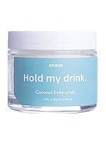 anese Hold My Drink Coconut Lip and Body Scrub