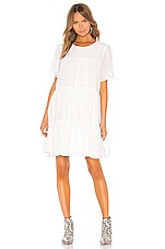ANINE BING Tabitha Dress in White