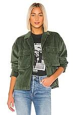 ANINE BING Corduroy Jacket in Green