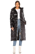 ANINE BING Mary Puffer Jacket in Black