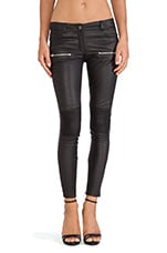 Moto Leather Pant in Black