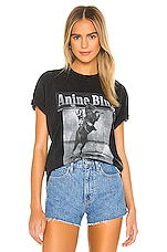 ANINE BING Lili Wild And Free Tee in Washed Black