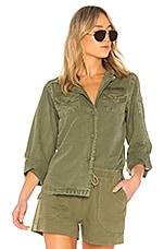 ANINE BING A. Bing Military Shirt in Military Green
