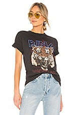 ANINE BING Tiger Tee in Black