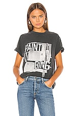 ANINE BING Lili Tee in Black