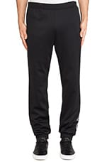 by Opening Ceremony Taekwondo Belt Trackpant in SLVR Black