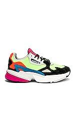 adidas Originals Falcon Sneaker in Hireye & Black