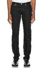 A.P.C. Petite Standard Jeans in Black