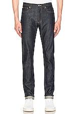 A.P.C. Petit New Standard Jean in Indigo