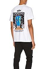 A.P.C. x Brain Dead Dusty T-Shirt in Blanc