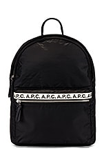 A.P.C. Repeat Backpack in Black