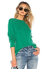 A.P.C. Pull Clemence Sweater in Vert