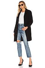 A.P.C. Manteau Eleven Coat in Noir