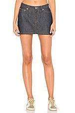 A.P.C. Mini Skirt in Indigo