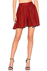 A Peace Treaty Misia Red Short in Red