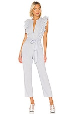 APIECE APART Limon Eyelet Jumpsuit in Lavender