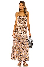 APIECE APART Oruro Dress in Pink Especia Floral