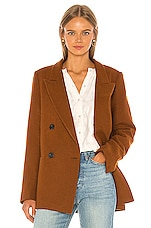 APIECE APART Iris Blazer in Copper