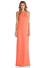 Verses Maxi Dress in Coral