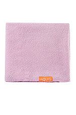 AQUIS Lisse Luxe Hair Towel in Desert Rose