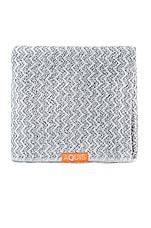 AQUIS Lisse Luxe Hair Towel in Chevron