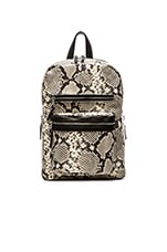 Python Danica Medium Backpack in Natural & Black