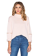 Fierce Warrior Knit Top en Rose Water