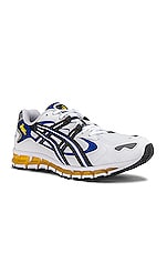 Asics Platinum Kayano 5 360 in White & Black