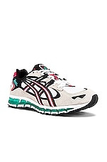 Asics Platinum Kayano 5 360 in White & Cream