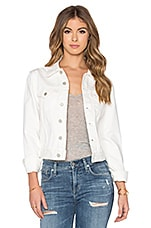 Femme Denim Jacket in White