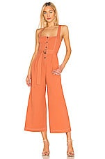 ASTR the Label Warwick Jumpsuit in Clay