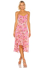 ASTR the Label Janine Dress in Lavender & Pink Floral