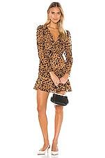 ASTR the Label Nikita Dress in Burnout Leopard
