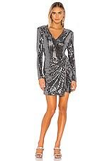 ASTR the Label Showstopper Dress in Mirror Mirror