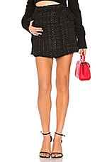 ASTR the Label Cece Skort in Black Out