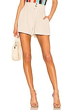 ASTR the Label Sophia Shorts in Natural