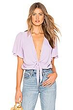ASTR the Label Cory Bodysuit in Lavender